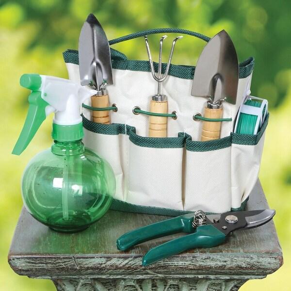 Mwgear Garden Buddies, Garden Tool Set W/ Storage Tote (6-Piece)