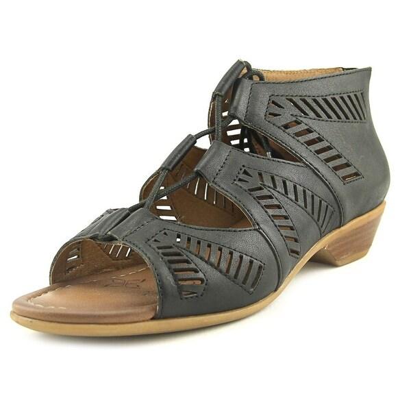 Comfortiva Riley Black Sandals