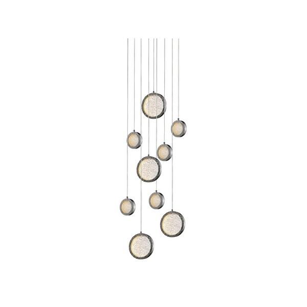 Avenue Lighting HF5019PN LED Pendant Bottega Polished Nickel - One Size. Opens flyout.