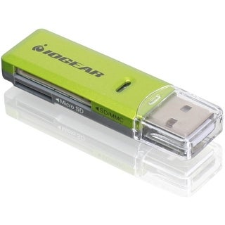 IOGear GFR204SD Iogear GFR204SD Flash Card Reader/Writer - SD, microSD, MultiMediaCard (MMC), SDXC