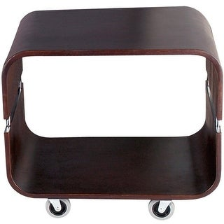 Adesso WK2005-15 Contour Rolling End Table