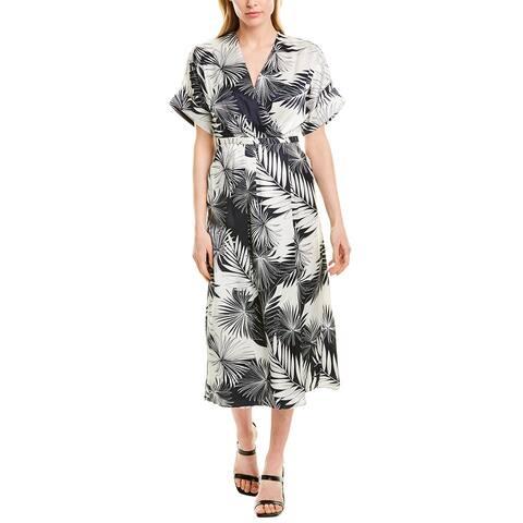 Equipment Tavien Silk Midi Dress