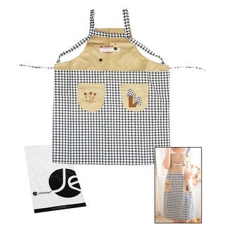 JAVOedge Pattern Mommy and Me Apron Cooking or Baking Apron with Pocket Great Gift For Mother and Daughters Matching Set
