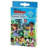 Licensed Lenticular Playing Cards-Disney Junior