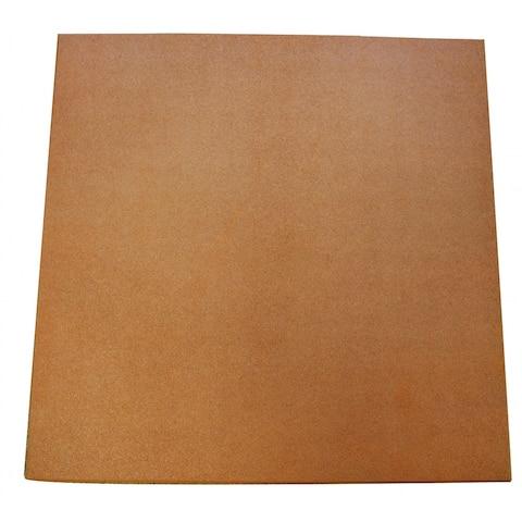 "Rubber-Cal ""Eco-Sport"" 3/4-inch Interlocking Rubber Tiles - 3/4 in x 20 in x 20 in - 20 Pack, 56 Sqr/Ft - Terra Cota - 20 x 20"