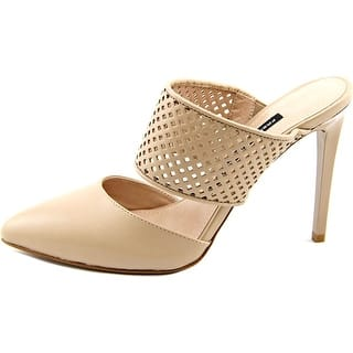 French Connection Mollie Women Pointed Toe Leather Nude Heels|https://ak1.ostkcdn.com/images/products/is/images/direct/830d966a2b3d63120b1ce39fb0d084feb05aaac8/French-Connection-Mollie-Women-Pointed-Toe-Leather-Nude-Heels.jpg?impolicy=medium