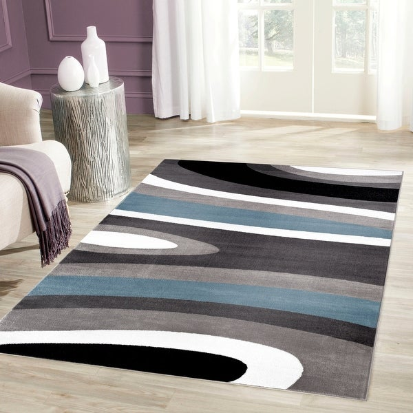 Abstract Contemporary Modern Area Rug. Opens flyout.