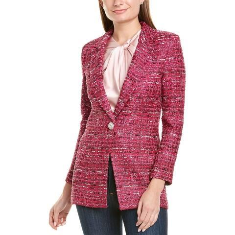 St. John Opulent Tweed Jacket