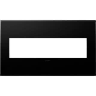 Legrand AWP4GGR4 adorne 4 Gang Plastic Wall Plate - 6.56 Inches Wide