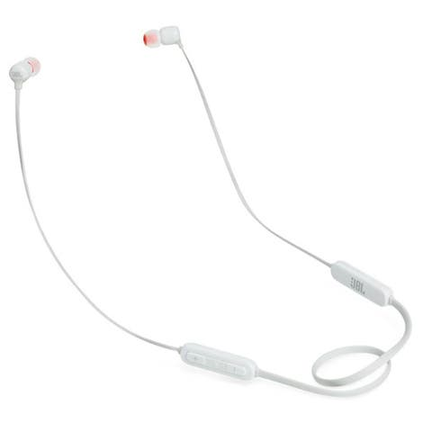 New JBL Tune 110BT Wireless In-Ear Headphones Pure Bass Color White