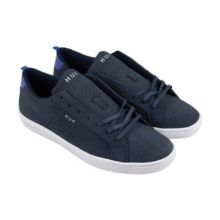 Huf Boyd Mens Black Textile Lace Up Sneakers Shoes