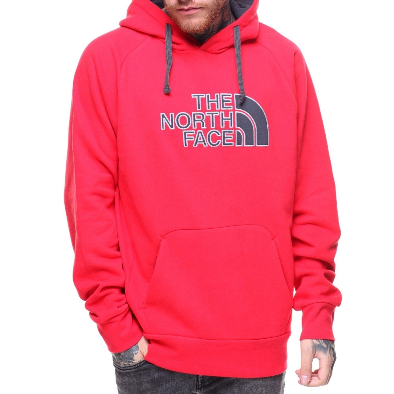 a0190a503 The North Face Avalon Hoodie TNF Red/Asphalt Men