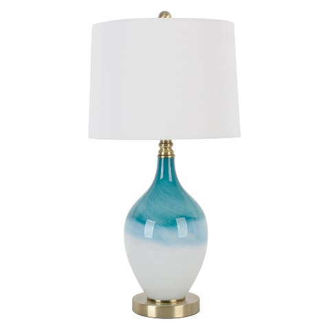 Vinnie Art Glass LED Table Lamp