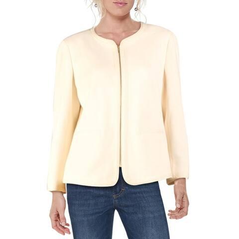 Anne Klein Womens Blazer Suit Seperate Office - Anne White