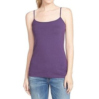 Halogen NEW Purple Women's Size Medium M Spaghetti Strap Cami Shirt
