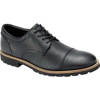 Rockport Men's Channer Oxford Black Leather