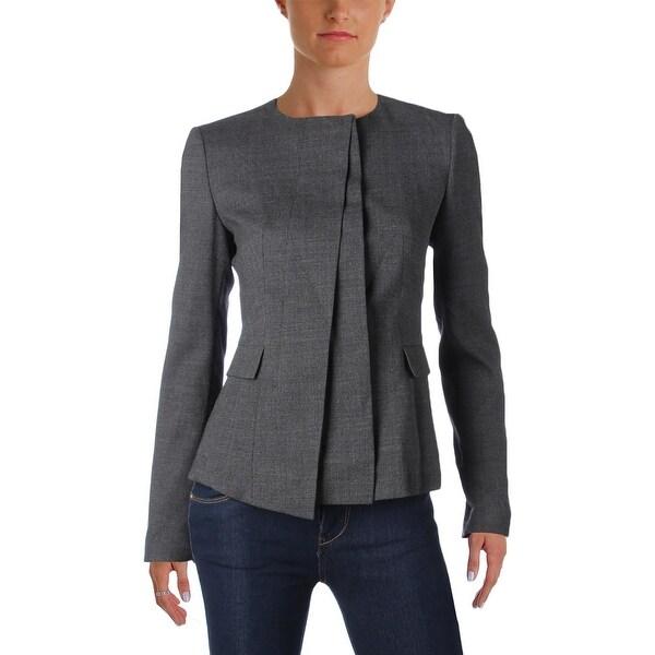 88cda5848d Shop BOSS Hugo Boss Womens Jacket Wool Button - Free Shipping Today ...