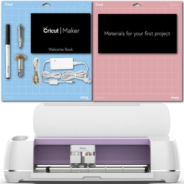 Lilac Machine Vinyl Tools Cricut Maker Beginner Bundle Iron-On