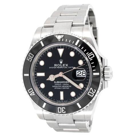 41mm Rolex Stainless Steel Submariner Date Watch