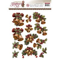Find It Trading Amy Design Punchout Sheet-Christmas Bells