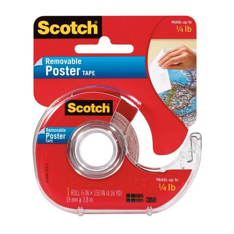 Scotch tape poster removable 3/4 x 150 109