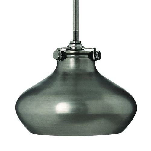 Hinkley Lighting 3138 1 Light Indoor Mini Pendant with Metal Shade from the Congress Collection