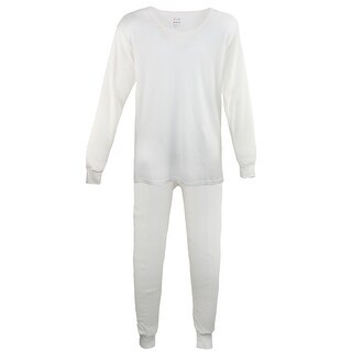 tru fit Men's Thermal Long Underwear Top Bottom Set