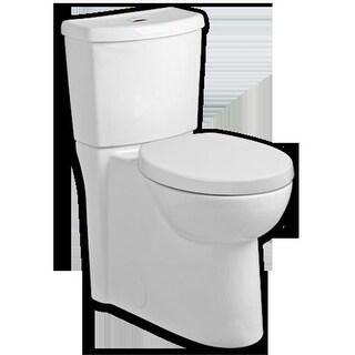 Studio Right Height Elongated Toilet Universal Bowl - White