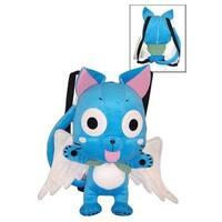 Fairy Tail Happy Plush Bag - Blue