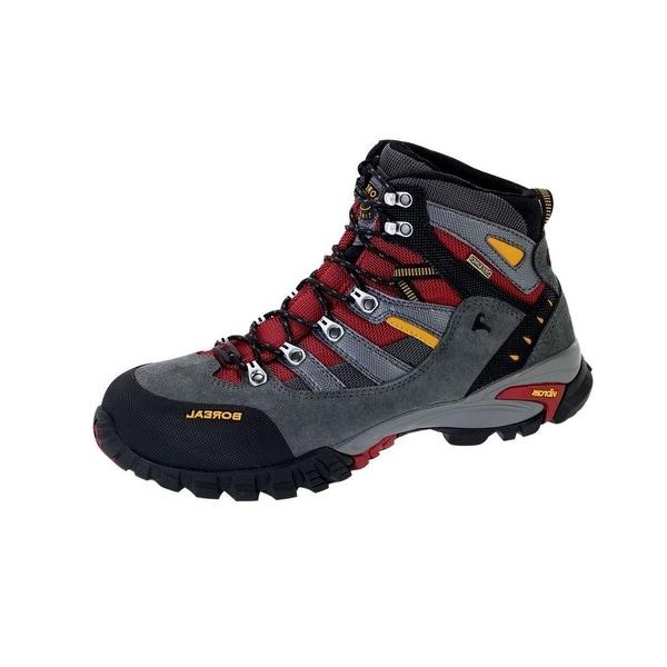 Boreal Climbing Boots Mens Lightweight Klamath Rojo Gray Red