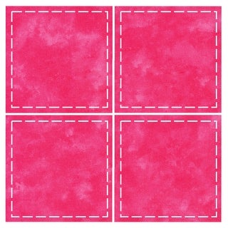 "Go! Fabric Cutting Dies-Square 4-1/2"" Multiples"