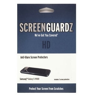 ScreenGuardz+HD Screen Protector with Anti-Glare for Samsung i9000 (2-Pack)