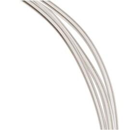 1 Oz. (3 Ft.) 99.9-percent Fine Silver Wire 12 Gauge Round Dead Soft