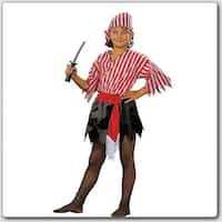 Pirate Girl Costume - Size Child-Medium