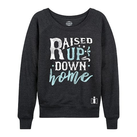 Raised Up Down Home - Women's Lightweight French Terry Pullover