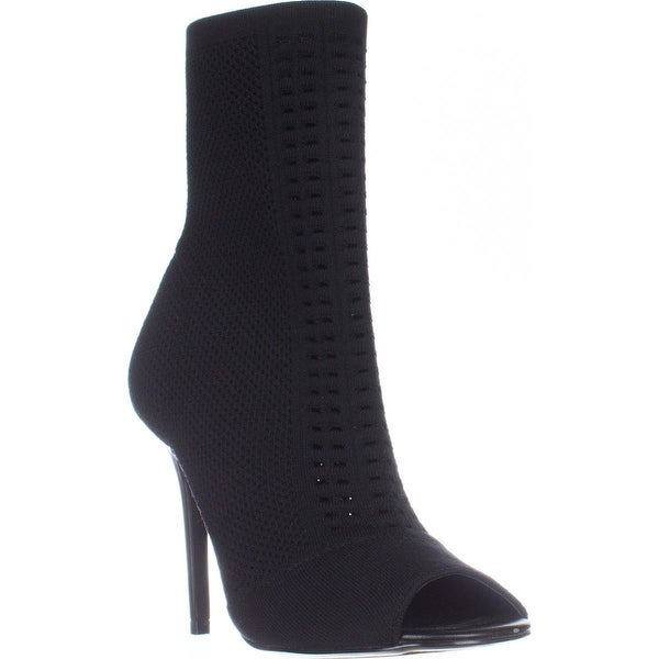 Charles by Charles David Rebellious Stretch Pull On Ankle Boots, Black