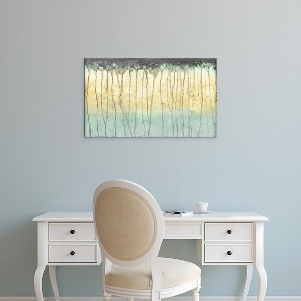 Easy Art Prints Jennifer Goldberger's 'Treeline Light I' Premium Canvas Art