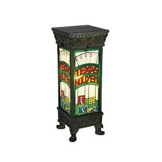 Landmark Lighting 214 Tiffany Single Light Up Lighting Floor Lamp from the Texas Hold'Em Collection