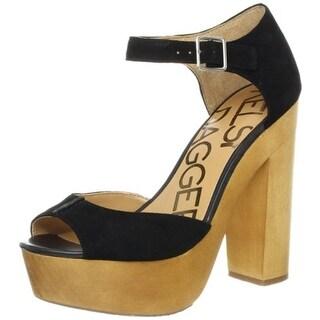 Kelsi Dagger Womens Wynette Open-Toe Heels Suede Sandals