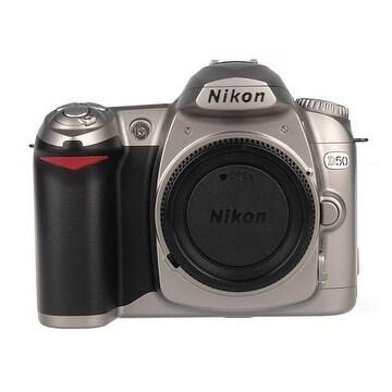 shop nikon d50 dslr camera body chrome international model rh overstock com Nikon D50 Camera Nikon D2X