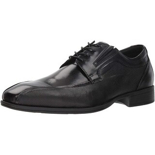 Kenneth Cole Reaction Mens Graham Leather Lace Up Casual Oxfords