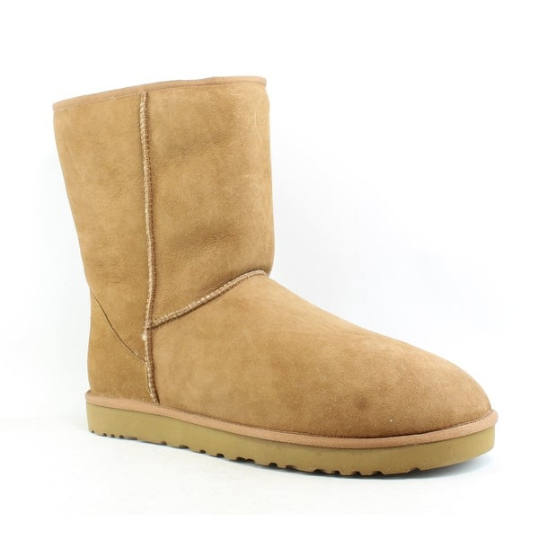 9e5cd305424 Shop UGG Mens Classic Short Chestnut Snow Boots Size 17 - On Sale ...