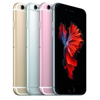 Apple iPhone 6s Plus 64GB Unlocked GSM 4G LTE 12MP Cell Phone w/ 12MP Camera (Refurbished)