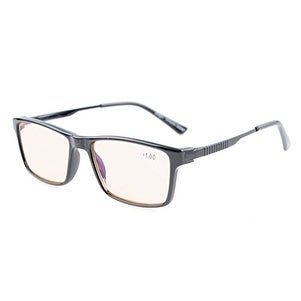 a39bff0bde Eyekepper Amber Tinted Crystal Clear Vision TR90 Frame Reading Glasses  Tortoise +2.0
