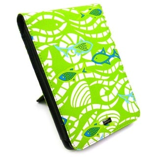 JAVOedge Fish Flip Case for Amazon Kindle Touch - Green