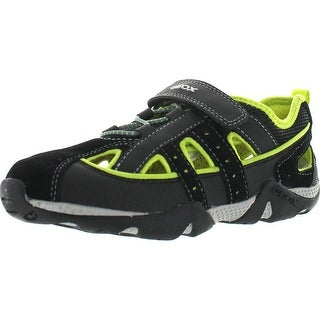 Geox Boys Junior Aragon Sport Water Friendly Protective Toe And Closed Back Sandals