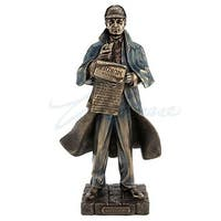 Unicorn Studios WU76694A4 Sherlock Holmes Sculpture - Bronze