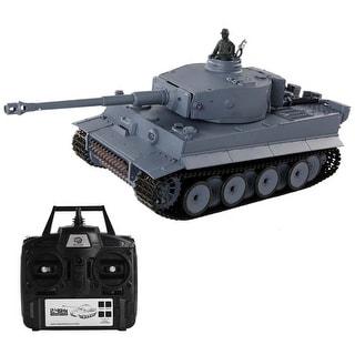Costway 1:16 2.4G RC German Tiger I Battle Tank Radio Remote Control Smoke & Sound