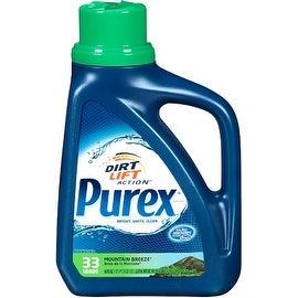 Purex Dirt Lift Action Laundry Detergent, Mountain Breeze 50 oz