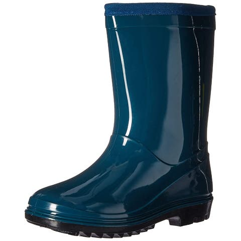 Itasca Kids' Youth Puddle Hopper Waterproof Rain Boot